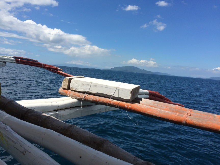 our morning banka ride over to Puerto Galera